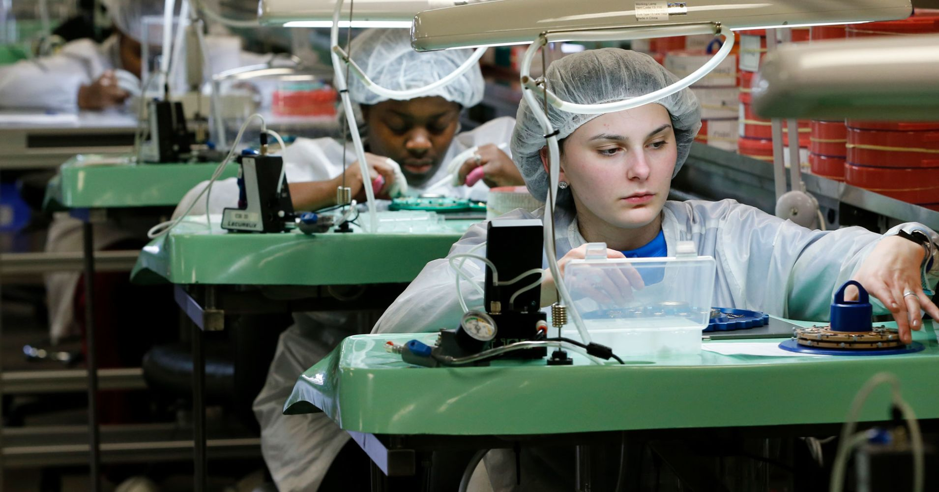 Service sector boomed in August, while factory orders fell more than expected in July