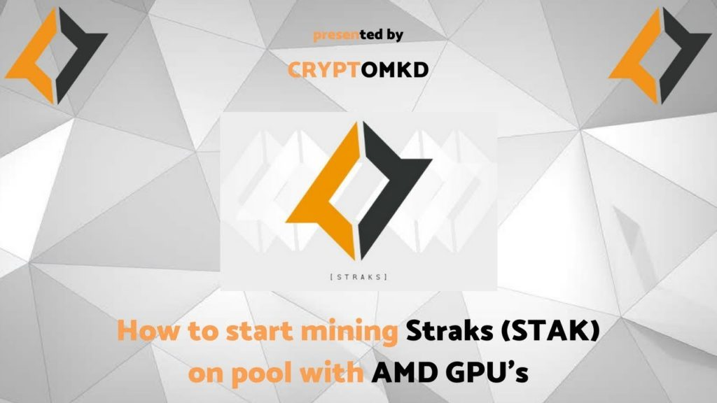 How to start mining Straks (STAK) on pool with nVidia GPU's