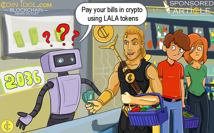 Pay Your Bills in Crypto Using LALA Tokens