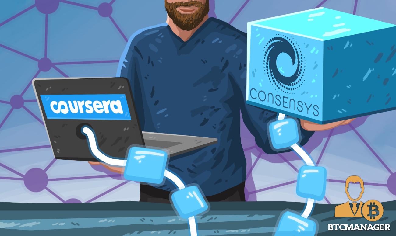 Coursera Join Forces with ConsenSys to Launch Online Blockchain Technology and Cryptography Course | BTCMANAGER