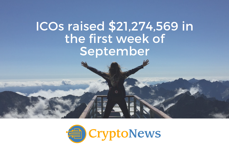 Successful ICO Roundup – First Week of September