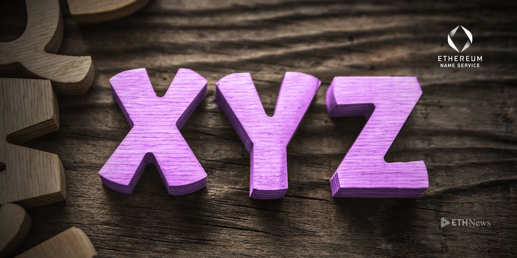 .XYZ Now Supported By ENS