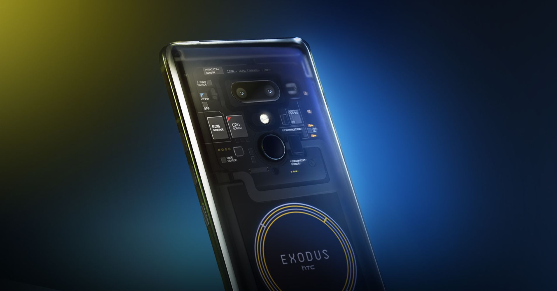 HTC launches its blockchain-focused phone, but you can only buy it in cryptocurrency