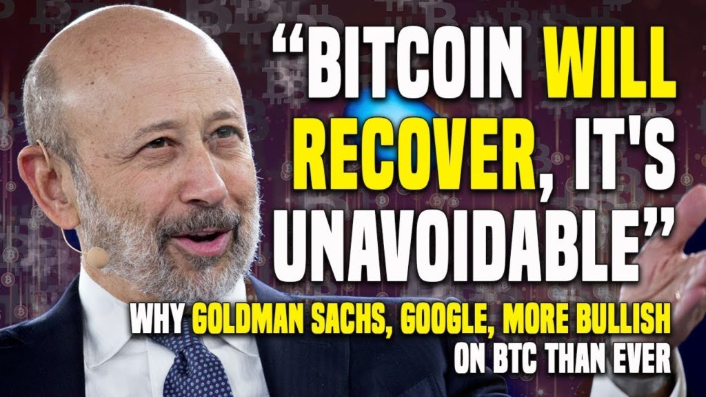 """Bitcoin WILL RECOVER, IT'S Unavoidable"" – Why GOLDMAN SACHS, GOOGLE, MORE BULLISH On BTC Than Ever"