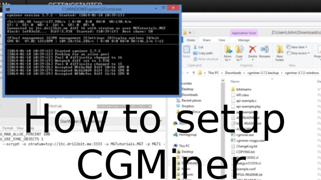 How to Setup CGMiner to Mine Cryptocurrencys (Litecoin & Dogecoin)