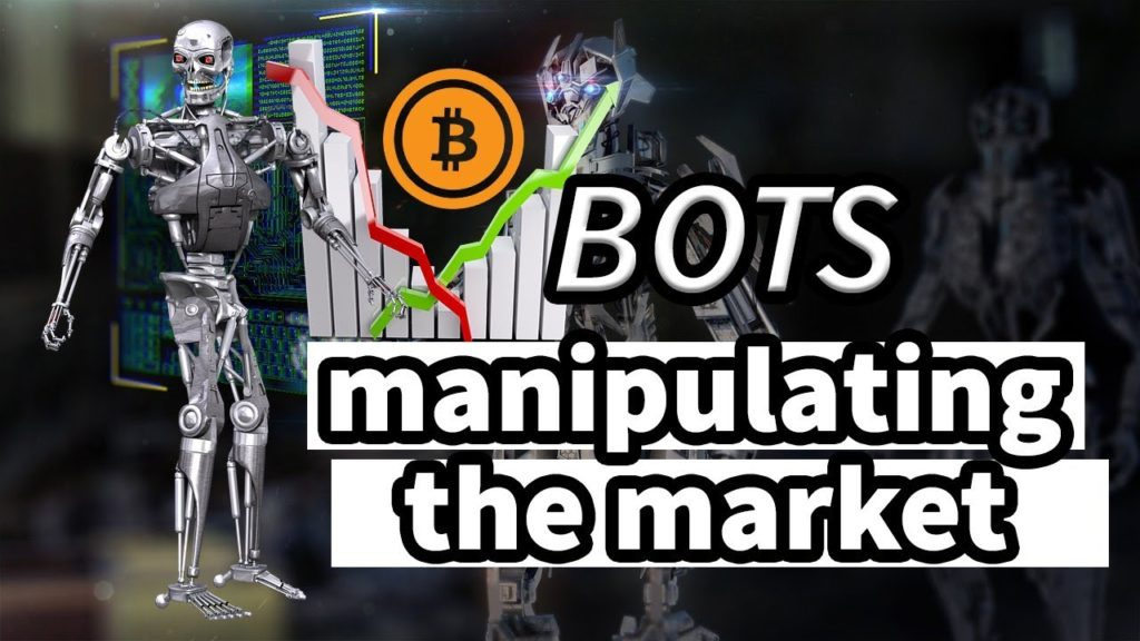bots are manipulating cryptocurrency prices? is the crypto market under Skynet attack?