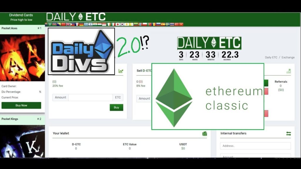 Can Daily ETC be Daily Divs 2.0!?