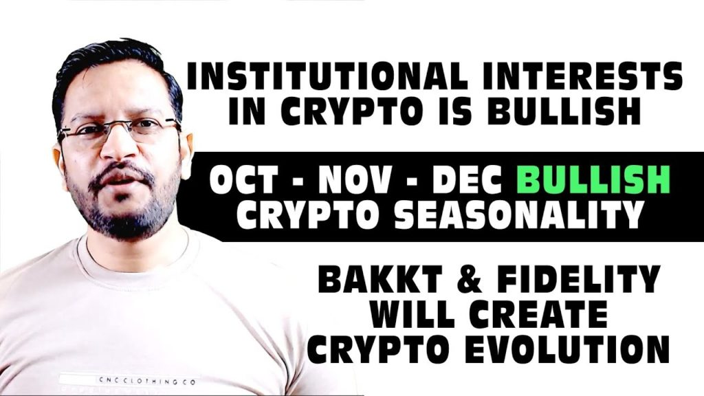 Institutional Interest in CRYPTO is BULLISH. BAKKT & FIDELITY will create Crypto Evolution.