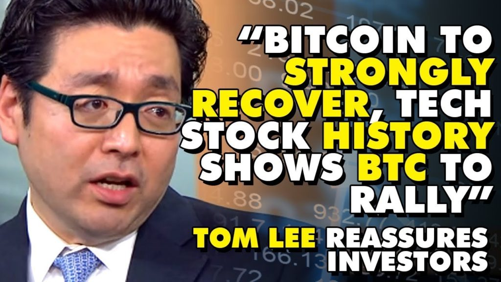 """Bitcoin To STRONGLY RECOVER, Tech Stock HISTORY Shows BTC To Rally"" – Tom Lee Reassures Investors"