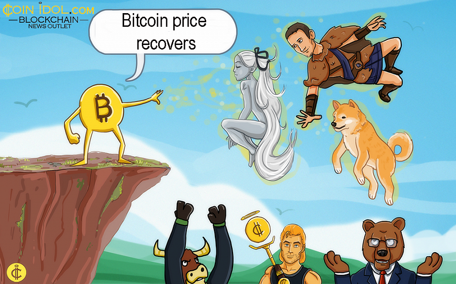 Bitcoin Price Recovers after the Weekend's Dip