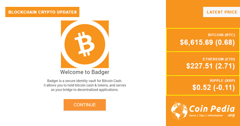 BCH Developers Announces Badgewallet for BCH