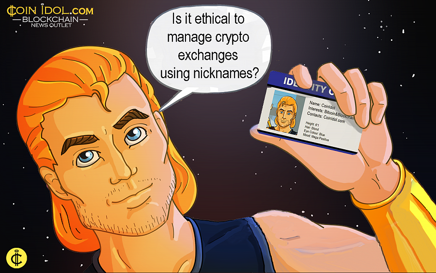 Changelly case: Is It Ethical to Manage CryptoCurrency Exchanges Using Nicknames?