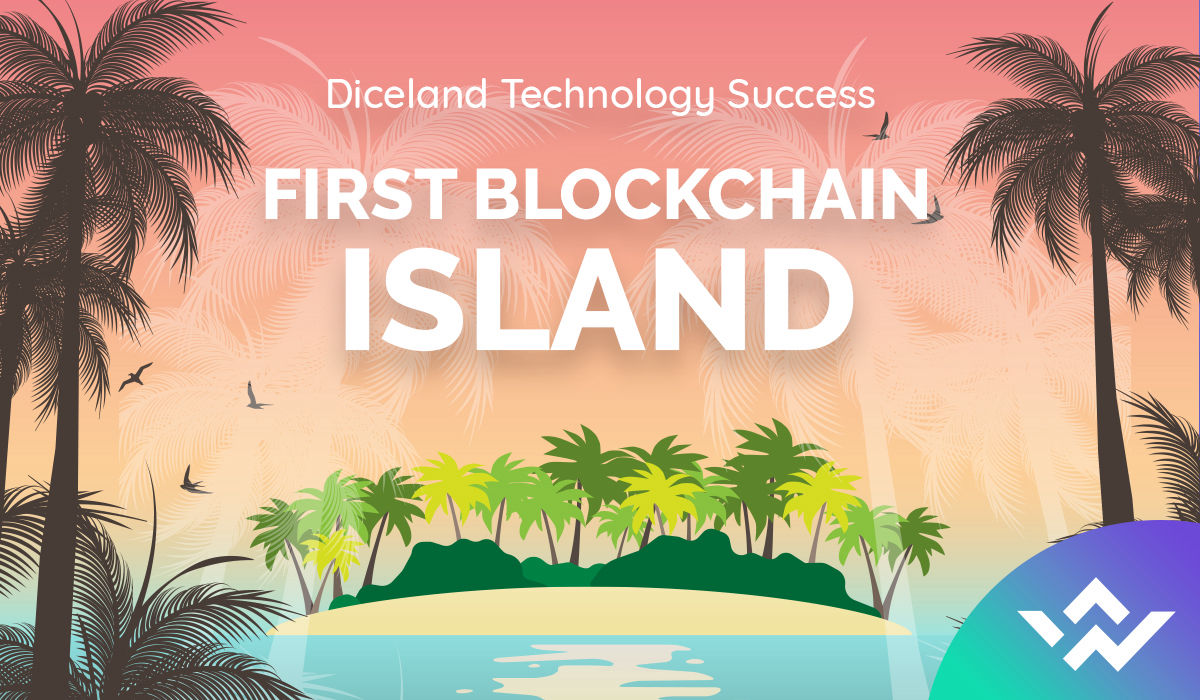 DiceLand Technology Success: The First Island on the Blockchain