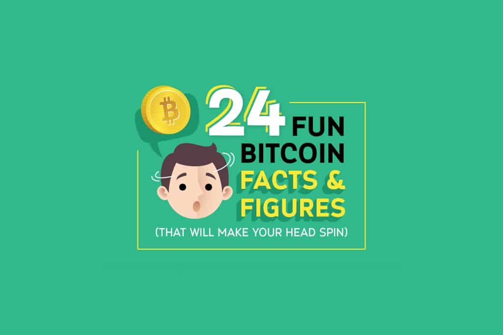 24 Fun Bitcoin Facts And Figures [Infografic]