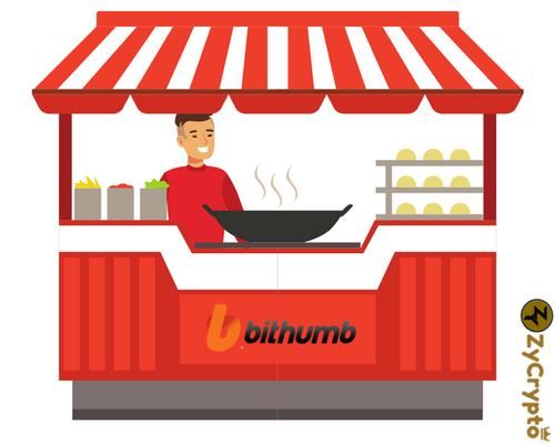 Bithumb Cryptocurrency Kiosk will Bring Food to Your Doorstep ⋆ ZyCrypto
