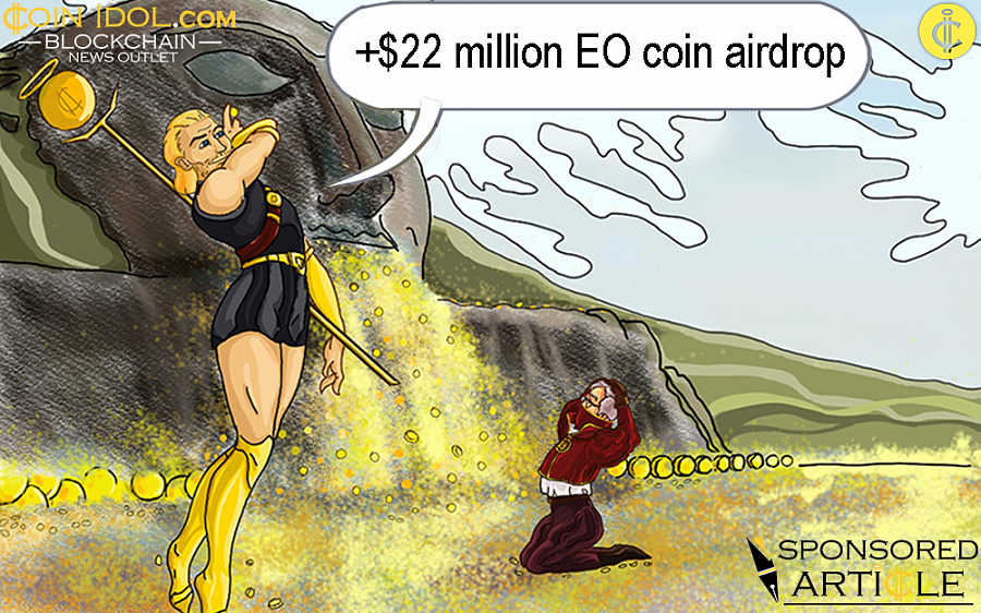 +$22 million EO Coin Airdrop: Holders to Receive 44,862,535 EO Coins