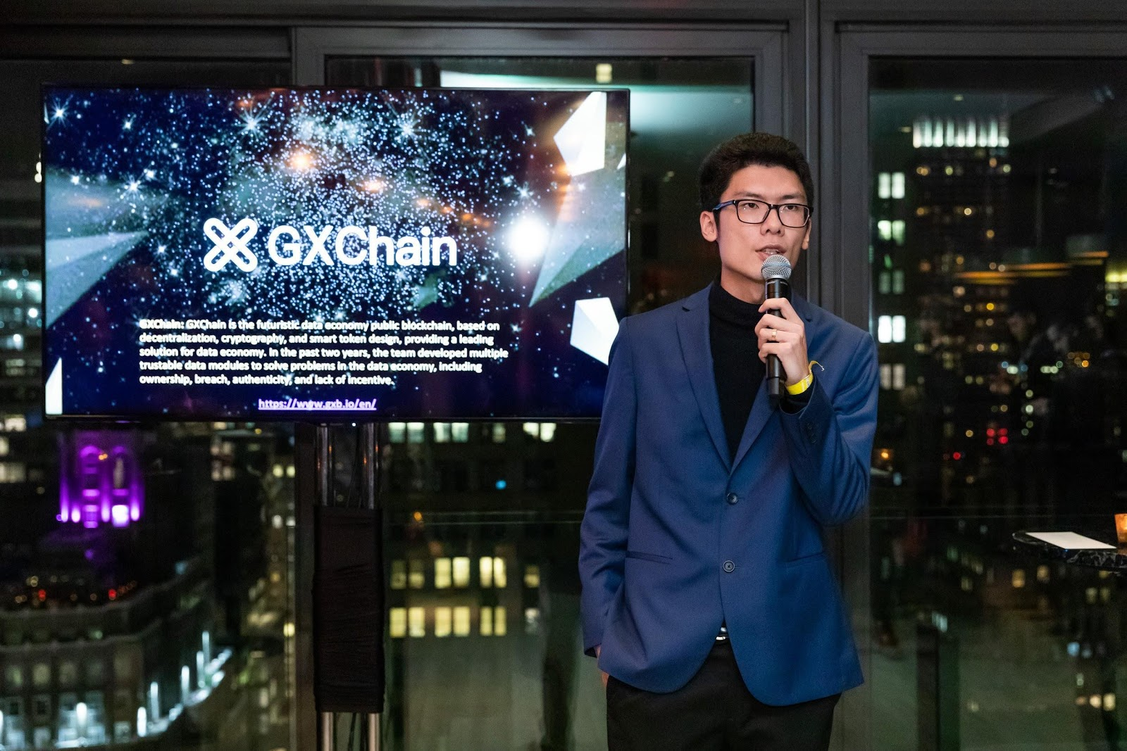 GXChain Held 2018 Fintech & Blockchain Social Night NYC Post Consensus Invest