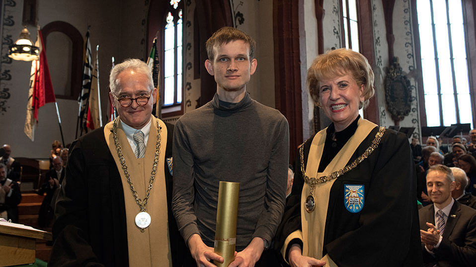 Vitalik Buterin Awarded Honorary Doctorate from Oldest Swiss University