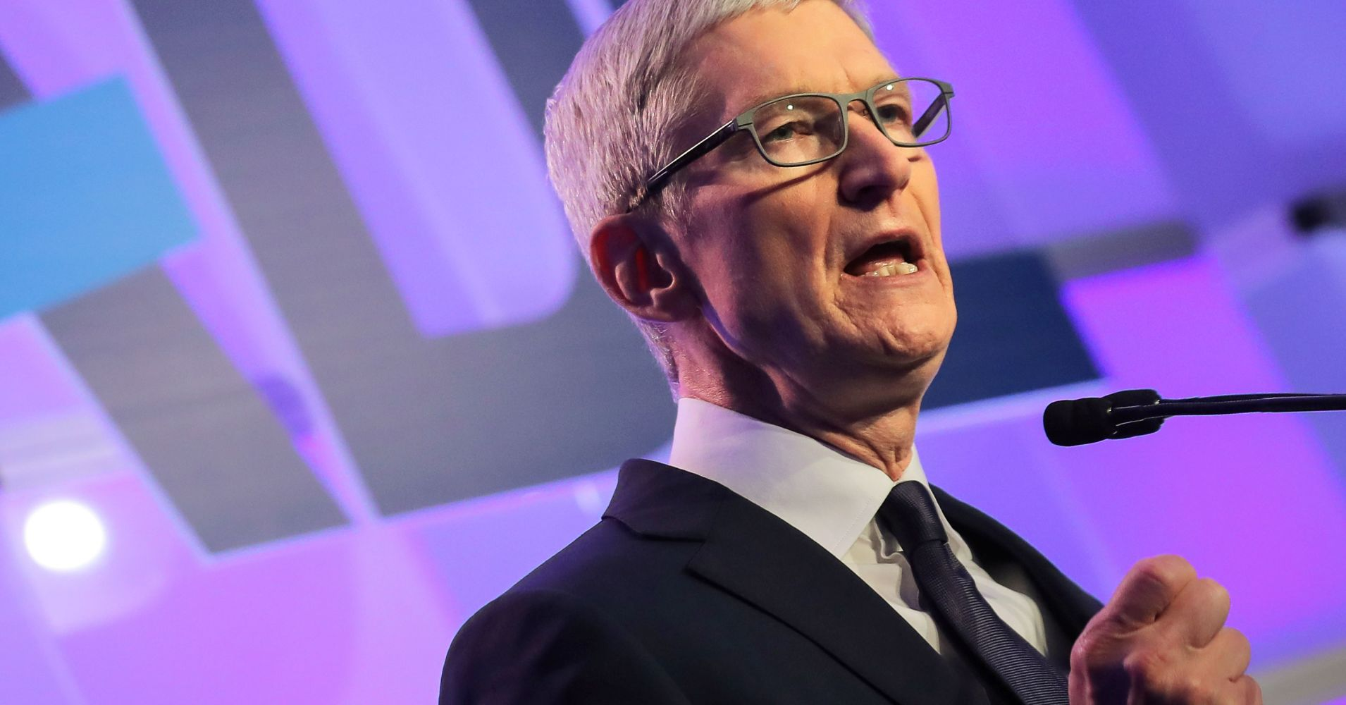 Apple CEO Tim Cook says  the US government should let people track and delete their data 'on demand'
