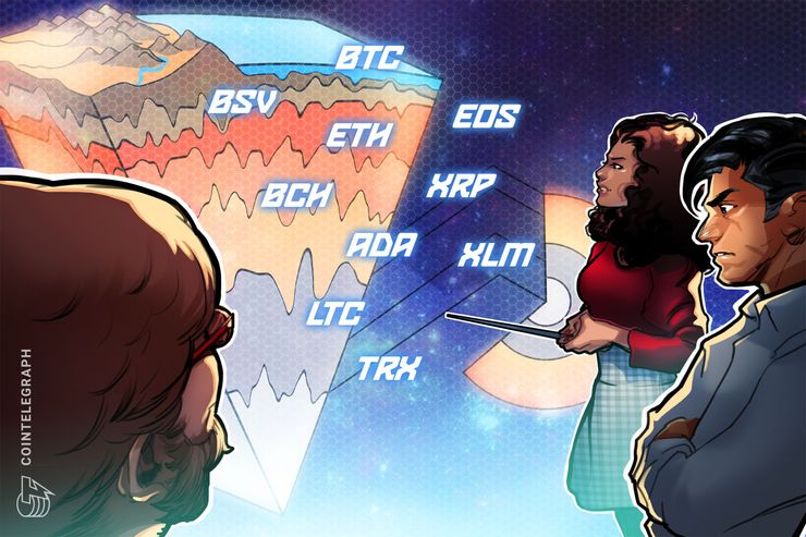 Bitcoin, Ethereum, Ripple, Bitcoin Cash, EOS, Stellar, Litecoin, Bitcoin SV, TRON, Cardano: Price Analysis, Jan. 2
