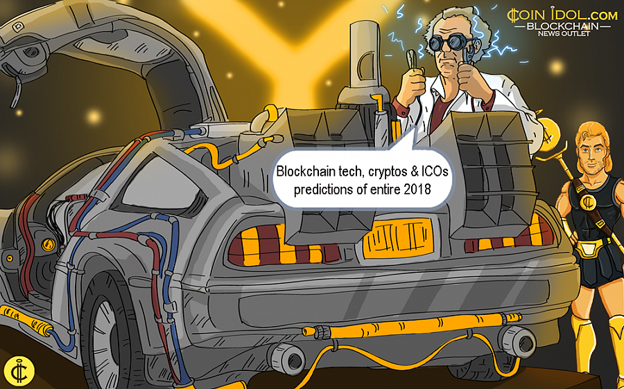 Yes or No: Blockchain Tech, Cryptos & ICOs Predictions of Entire 2018