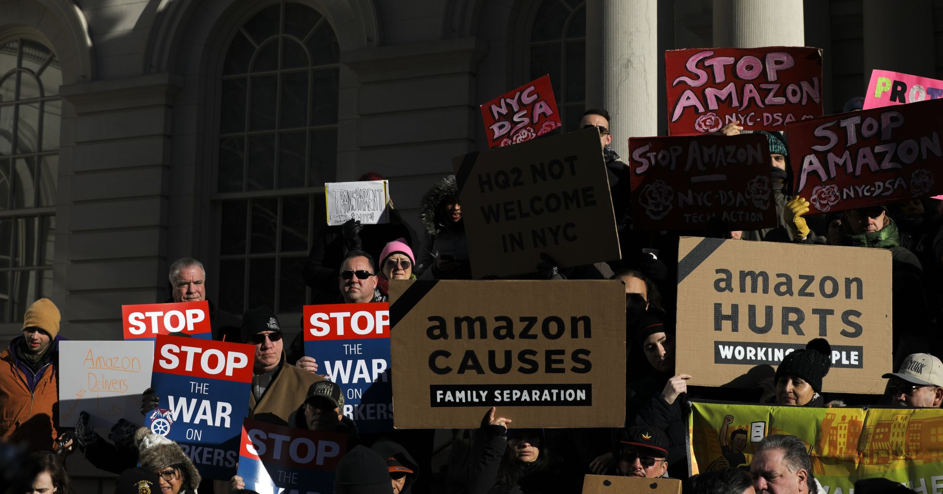 'This is a union town' — NYC councilman says Amazon's HQ2 is 'antithetical' to our values