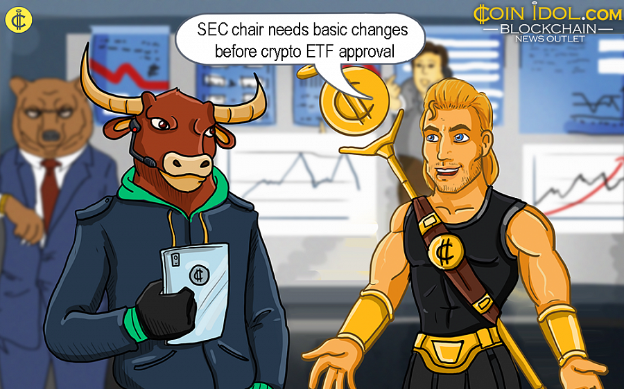 SEC Chair Needs Basic Changes Before Crypto ETF Approval