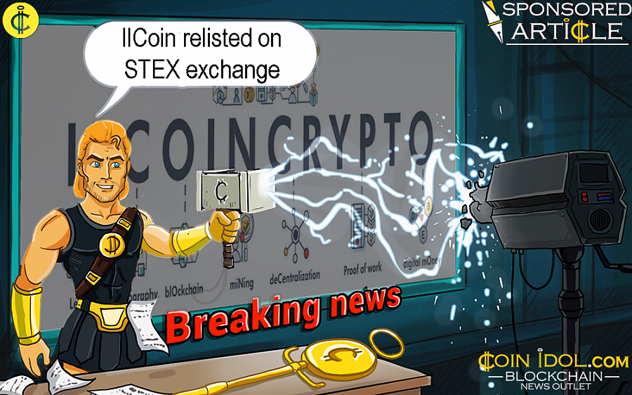 IlCoin Relisted on STEX Exchange