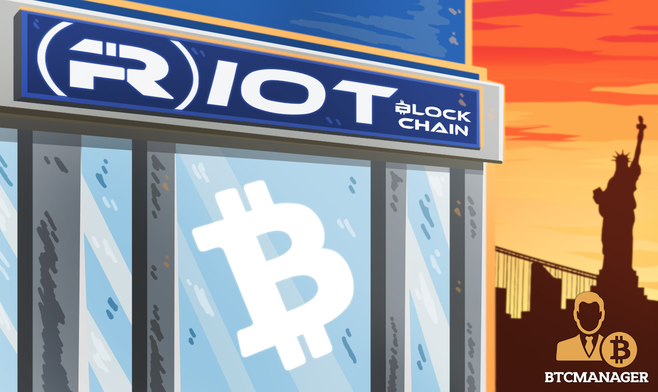 Riot Blockchain Plans United States-Based Regulated Cryptocurrency Exchange in Q2 2019 – BTCMANAGER