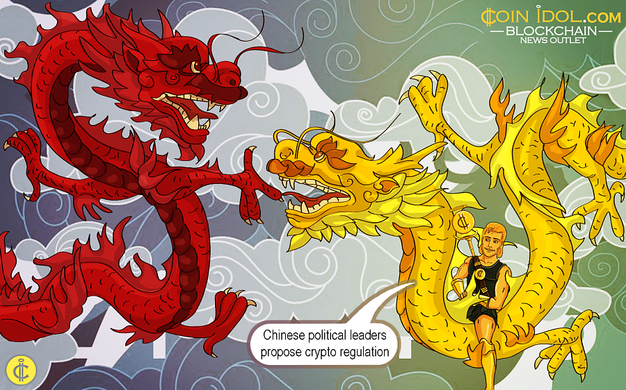 Chinese Political Leaders Propose Cryptocurrency Regulation