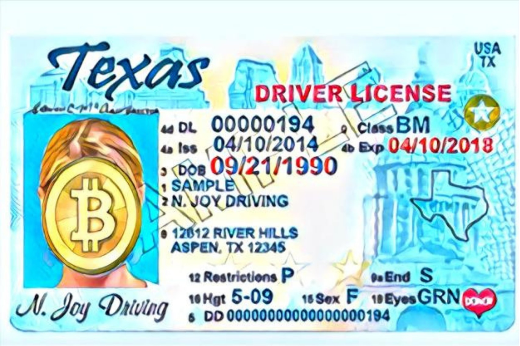 """Texas Bill Proposal: """" Before Accepting Payment by a Digital Currency, a Person Must Verify the Identity of the Person Sending Payment"""""""