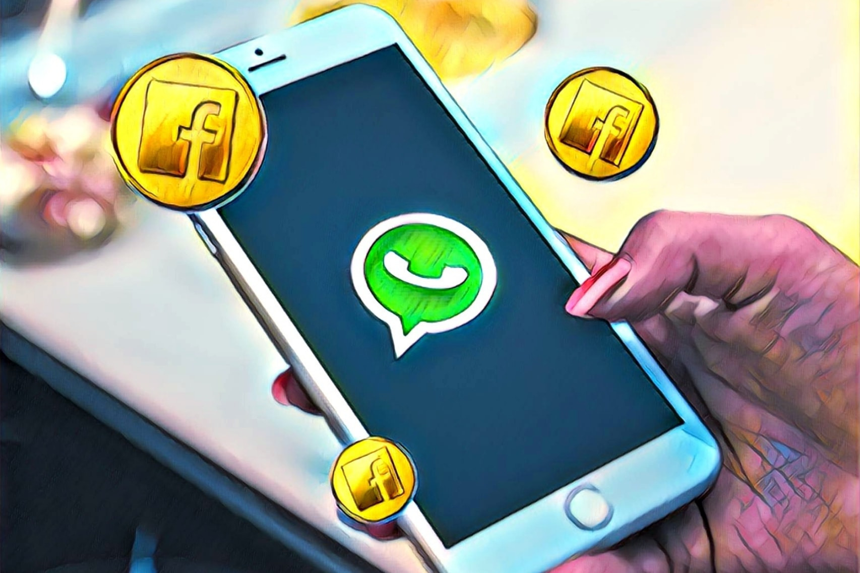 Facebook To Develop Its Cryptocurrency for WhatsApp, Sources Say