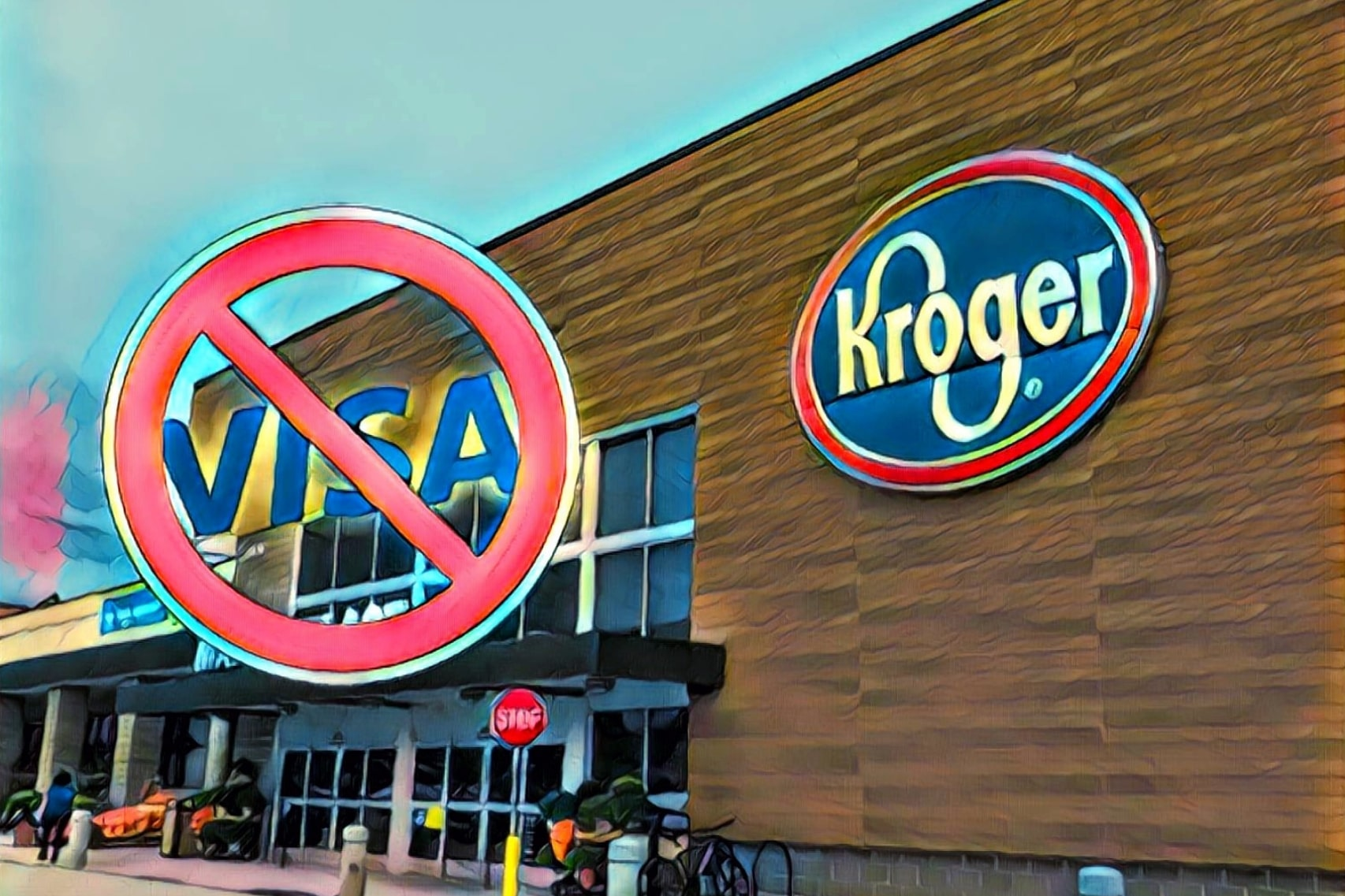 Kroger, the 2nd-Largest General Retailer in the US Bans Visa Due to Its Excessive Fees — Time For Crypto To Step In?