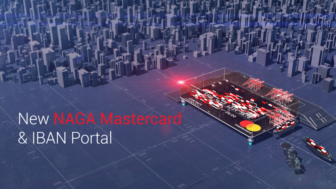 NAGA Has Just Released Its New NAGA MasterCard & IBAN Portal