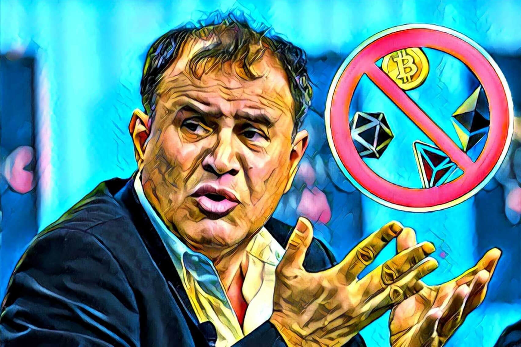 "Nouriel Roubini Bashes Crypto, Says ""Cryptocurrency as a Technology Has Absolutely No Basis for Success"""