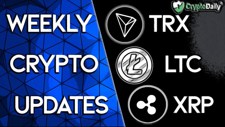 LTC Boosts Adoption, TRON CEOs Predictions & XRP to leave Coinbase