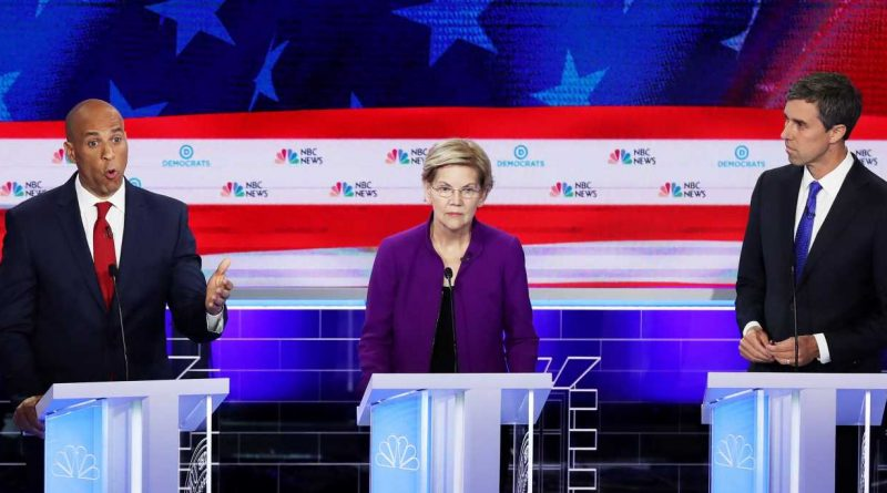 These 3 candidates got the most speaking time in the first 2020 Democratic debate