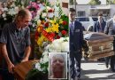 Hundreds of strangers flock to El Paso for shooting victim's funeral