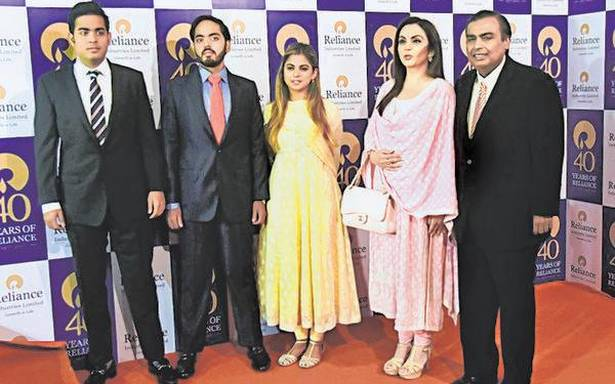RIL's restructuring, stake sale intent points to succession plan