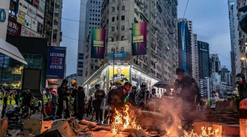 China threatens countermeasures in response to US bill supporting Hong Kong protesters