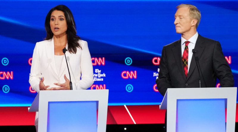 'Completely Despicable': Tulsi Gabbard, Asked About Syria, Attacks the Media