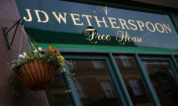 JD Wetherspoon to serve only Fairtrade sugar in pubs