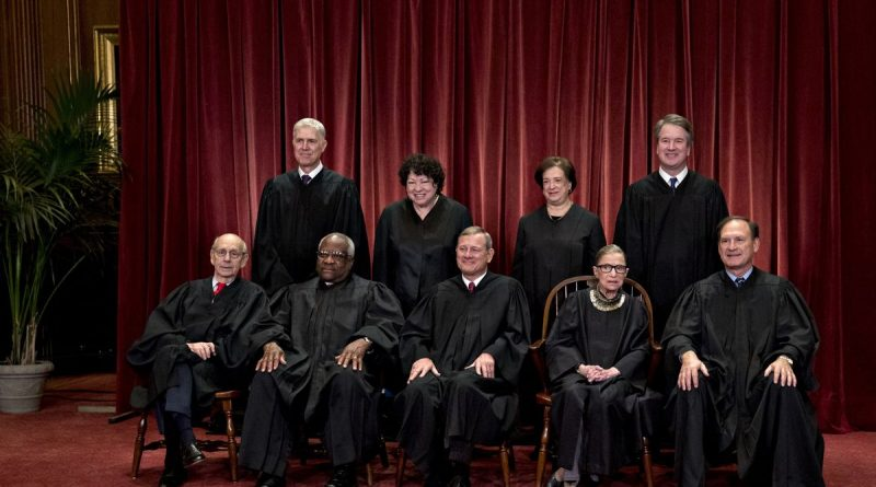 Ginsburg's Death Leaves Eight Justices to Deal With the Election