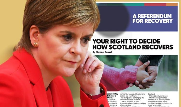 SNP bombard Scots with one million 'junk mail' indyref2 papers in St Andrew's Day frenzy